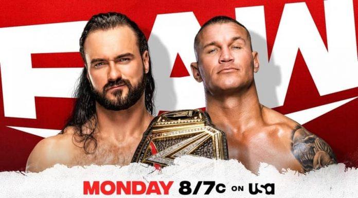McIntyre vs. Orton set for Monday Night Raw