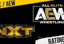 AEW Dynamite and WWE NXT Ratings for March 3