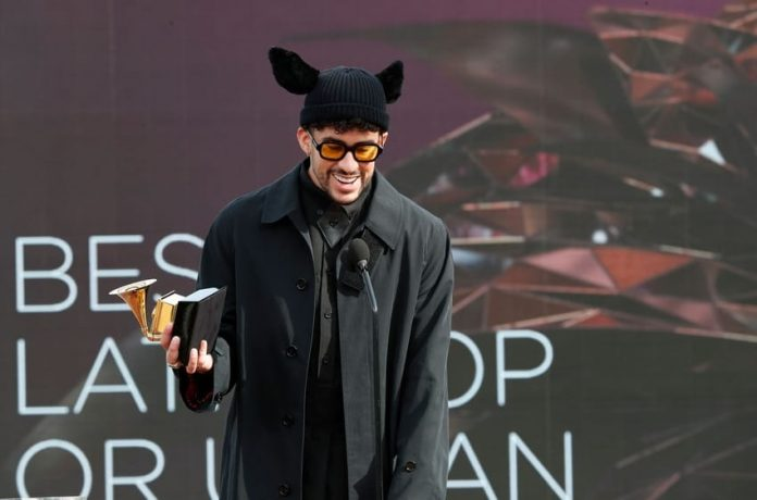Bad Bunny wins his first-ever Grammy on Sunday