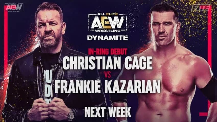 Christian Cage in-ring debut, and more set for next week's Dynamite
