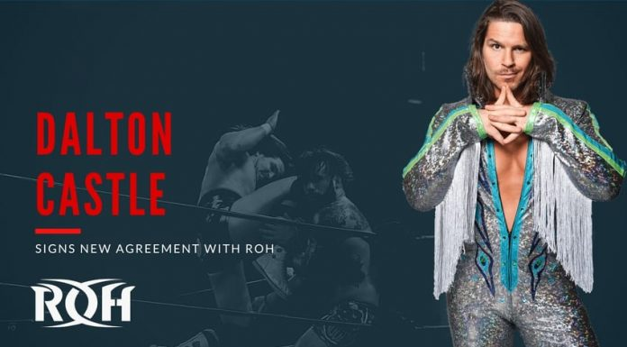 Dalton Castle signs new deal with ROH