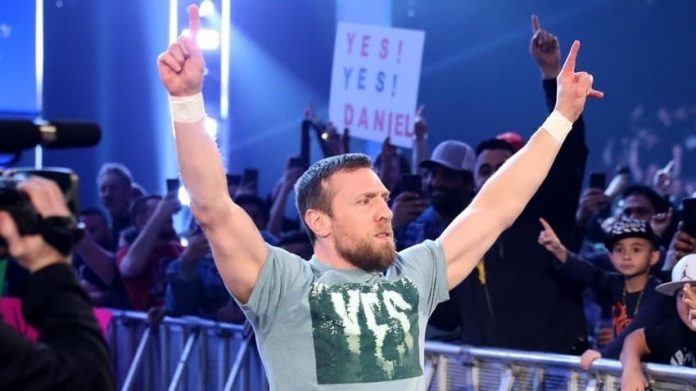 Daniel Bryan momentarily listed as 2021 HOF Inductee