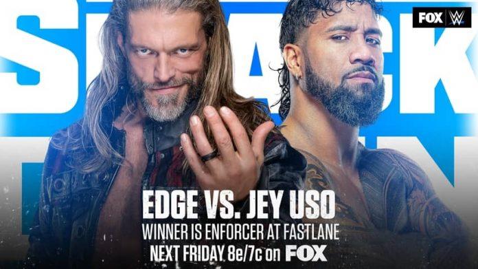 Edge vs Jey Uso on next week's SmackDown