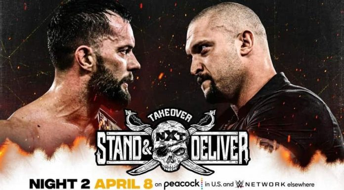 WWE NXT TakeOver: Stand and Deliver Main Event for Night Two