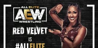 Red Velvet has been signed to a full-time AEW deal