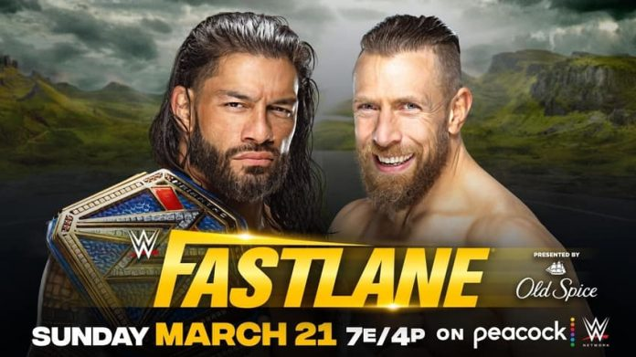 Romans Reigns vs. Daniel Bryan for Universal Title at Fastlane