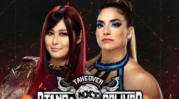 WWE NXT TakeOver: Stand and Deliver Main Event Night One