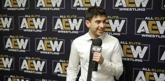Tony Khan appears on Busted Open Radio