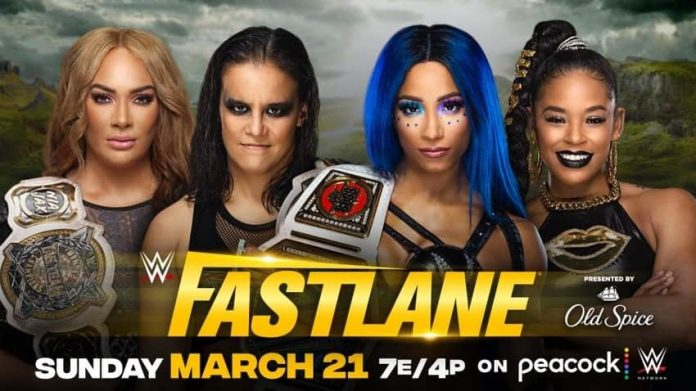 WWE Women's Tag Team Match announced for Fastlane