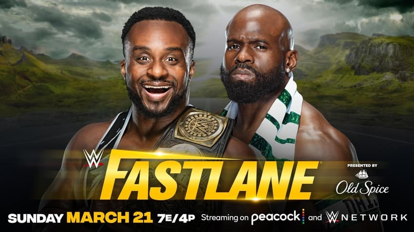 IC Title Match set or WWE Fastlane on Sunday, March 21