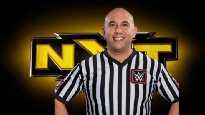 WWE NXT referee tears his bicep