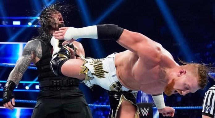 WWE bans slapping of the thighs and legs during kicks