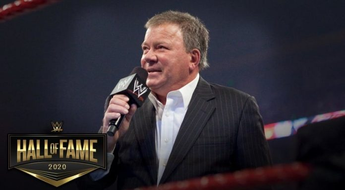 William Shatner to be inducted into Celebrity Wing WWE HOF 2020