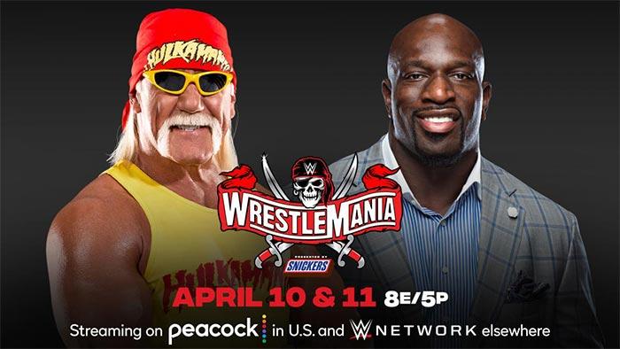 Hulk Hogan and Titus O'Neil to host WrestleMania 37