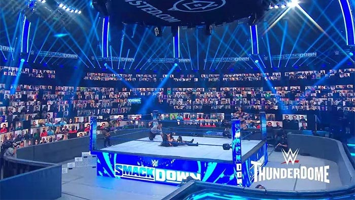WWE ThunderDome moving April 2