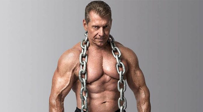 Vince McMahon in the gym
