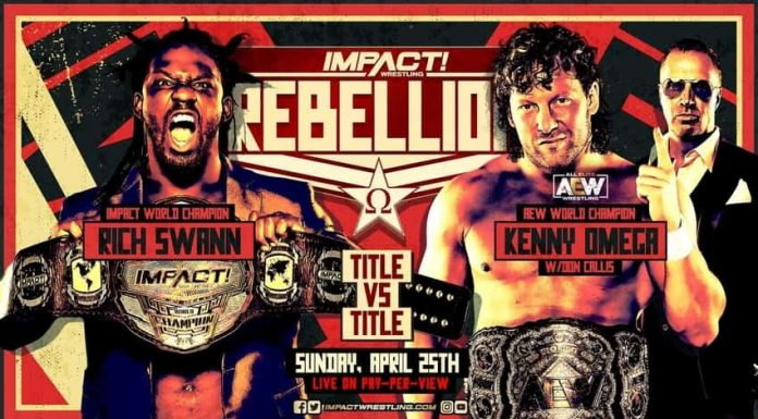 Winner of Title for Title Match at IMPACT Rebellion