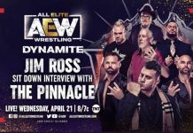 JIm Ross to interview The Pinnacle on Wednesday's Dynamite