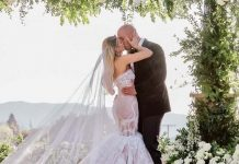 Kelly Kelly got married over the weekend