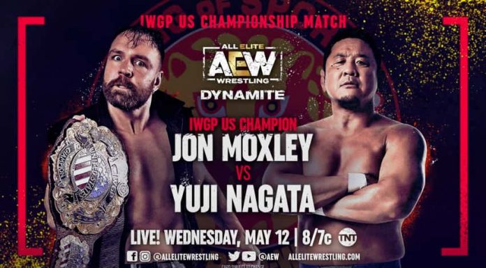 Jon Moxley to defend the IWGP US Title on Dynamite