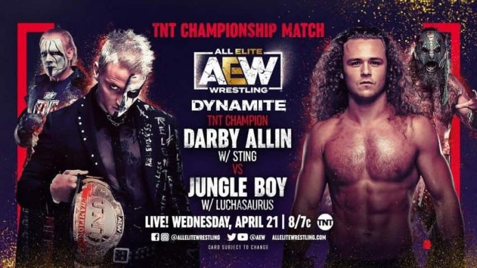 Darby Allin to defend the TNT Title on Dynamite