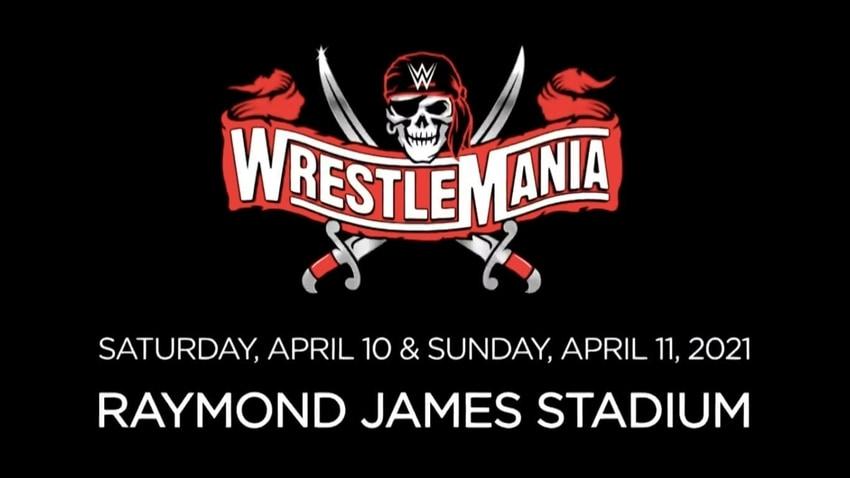 Set for Raymond James Stadium for WrestleMania 37 revealed