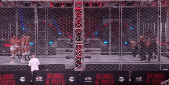 AEW Dynamite 5/5/21 Blood & Guts Highlight videos