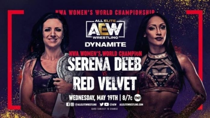 Two Title Matches announced for next week's Dynamite