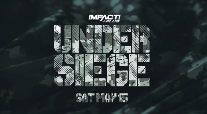 Updated card for Saturday's IMPACT Under Siege event
