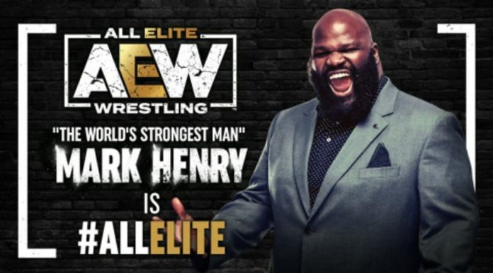 Mark Henry signs with All Elite Wrestling