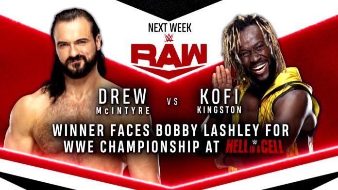 McIntyre vs. Kingston set for next week's Raw