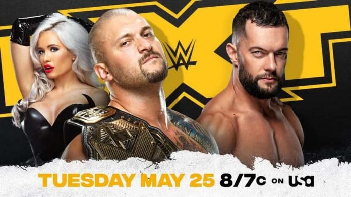NXT Title rematch Tuesday May 25