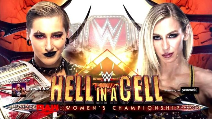 Rhea Ripley vs. Charlotte Flair set for Hell In A Cell
