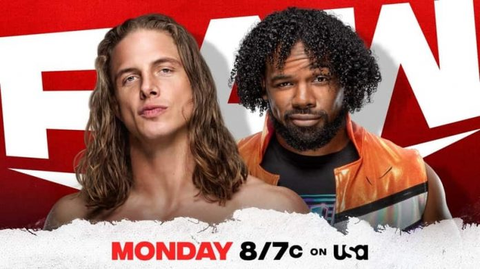 WWE announced Riddle vs. Xavier Woods for Raw