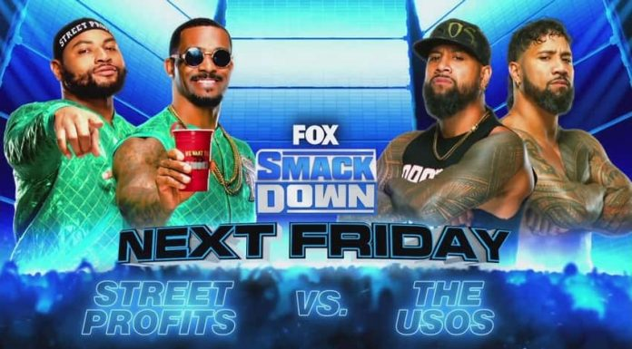 The Street Profits vs. The Usos announced for next week's SmackDown