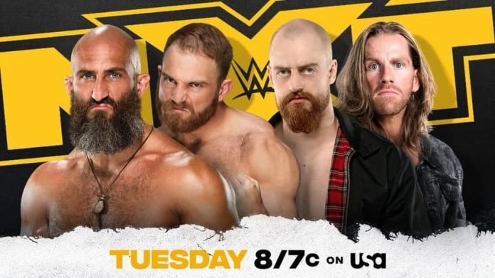 New Tag Team Match announced for Tuesday's NXT