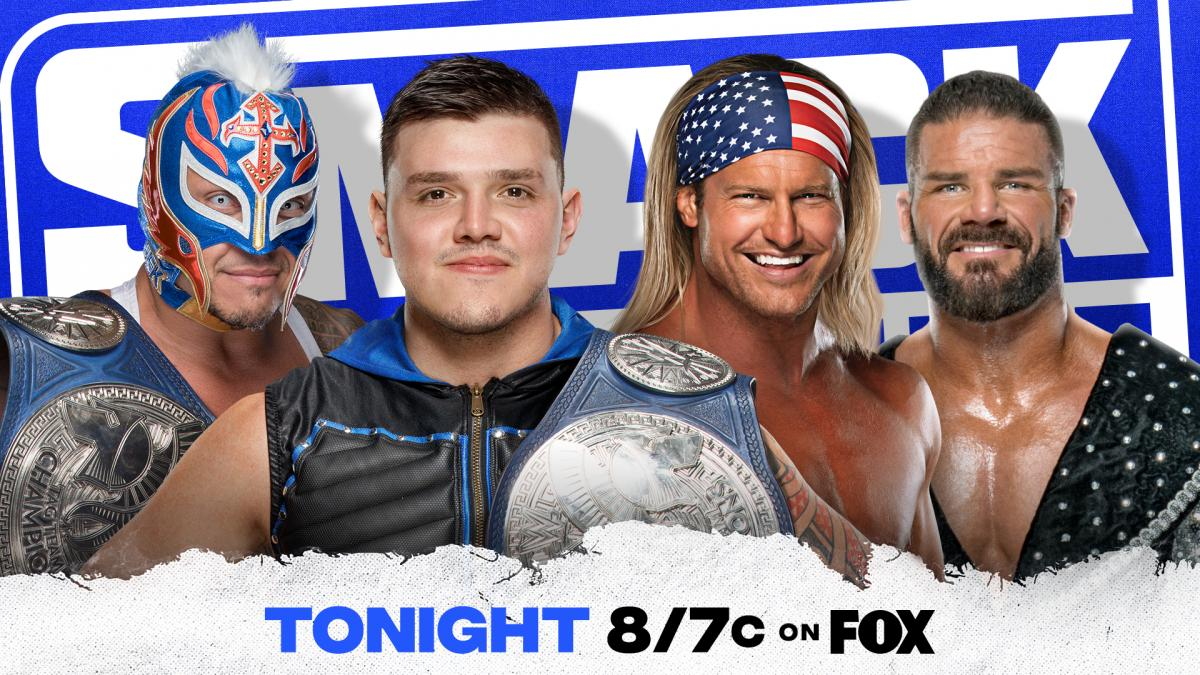 Tag Team Title Match added to tonight's SmackDown