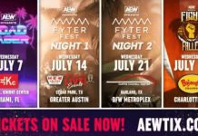 AEW to feature special themes for July