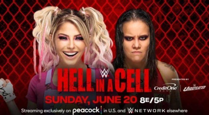 Alexa Bliss vs. Shayna Baszler added to HIAC PPV