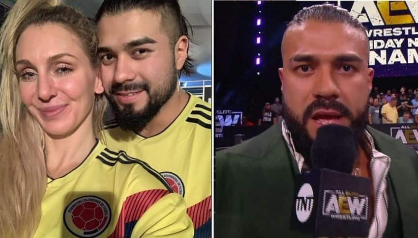 Charlotte Flair responds to Andrade El Idolo's AEW Dynamite debut