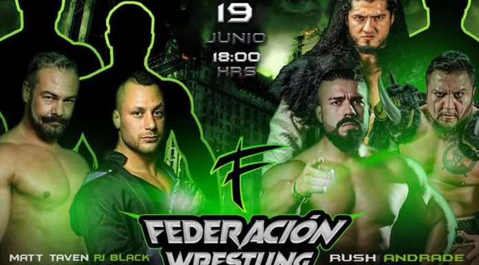 Major stars pull out of Federacion Wrestling PPV set for June 19