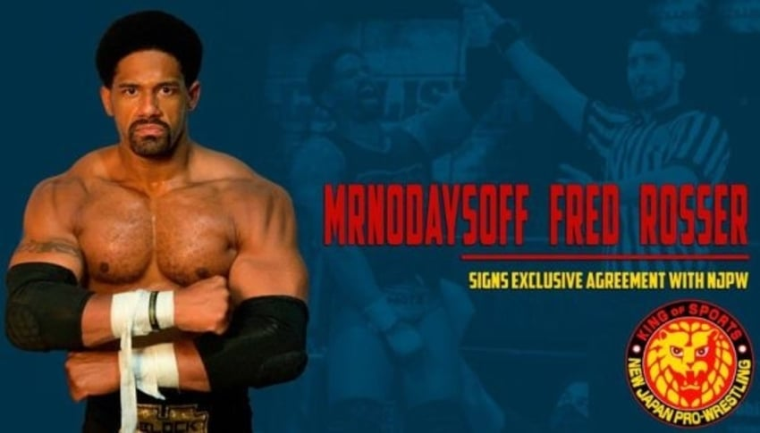 Fred Rosser signs exclusive deal with NJPW