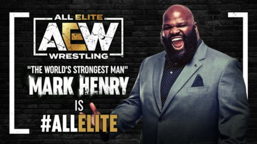 Mark Henry signs a multi-year deal with AEW