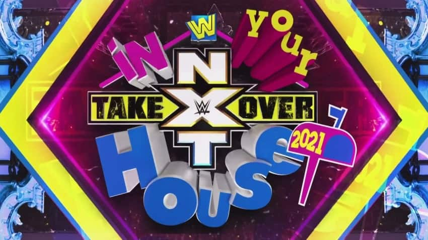 Updated card for WWE NXT TakeOver: In Your House 2021