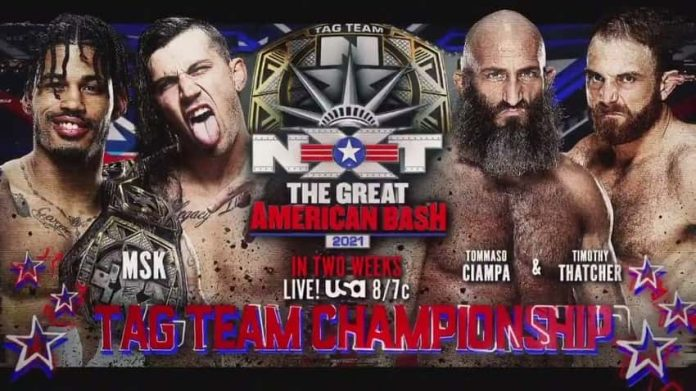 NXT Tag Team Title Match added to Great American Bash