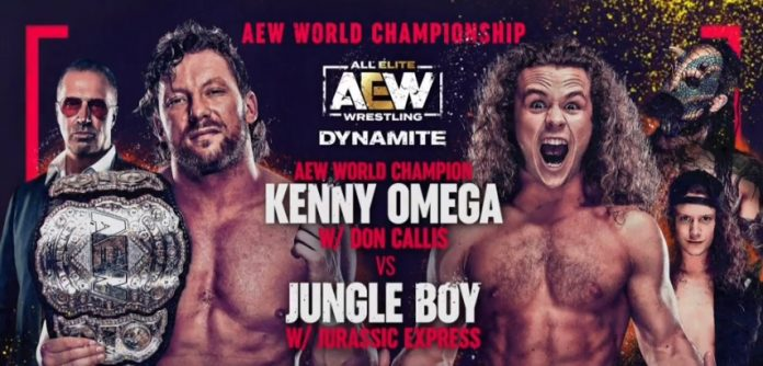 AEW World Title Match moved to June 26