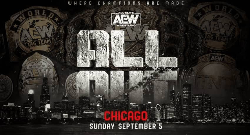 AEW All Out PPV on September 5 is officially sold out