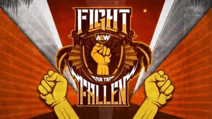Matches for next week's AEW Fight for the Fallen episode on TNT