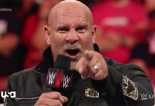 Bill Goldberg scheduled for two appearances on Raw