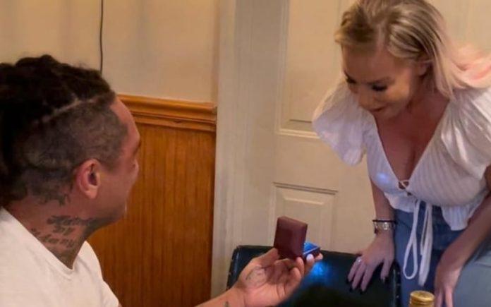 Dana Brooke gets engaged to boxer Ulysses Diaz